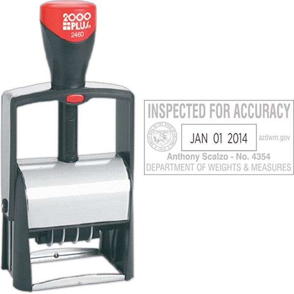 2000 Plus Classic Line  Self Inking Dater