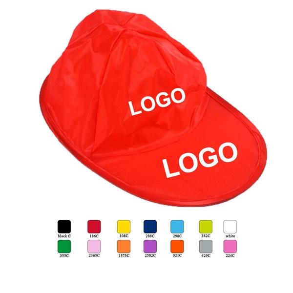 Nylon Folding Baseball Hat/Cap With Print Logo