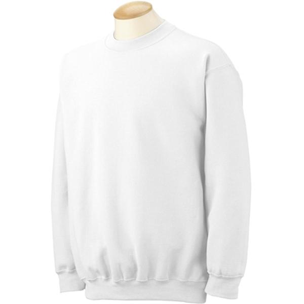 Gildan 7.75 oz 50/50 Fleece Crew - White