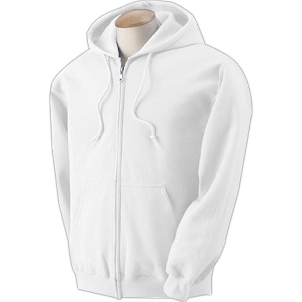 Gildan Heavy Blend Full Zip Hood - White