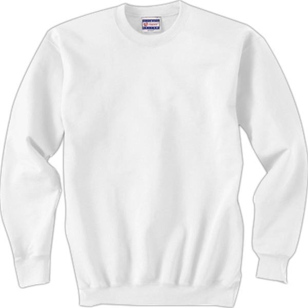 Hanes 90/10 Ultimate Cotton Crew - White
