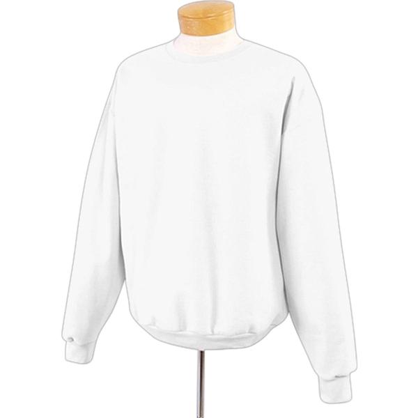 Jerzees 9 oz 50/50 Super Sweats Nublend Crew - White/Neutral