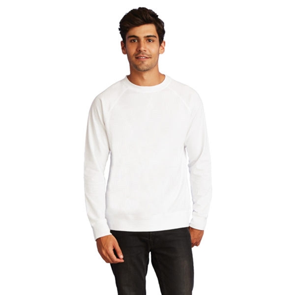 Next Level Adult French Terry Raglan Cre