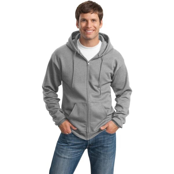 Port and Company 7.8 Oz. Full-Zip Hooded