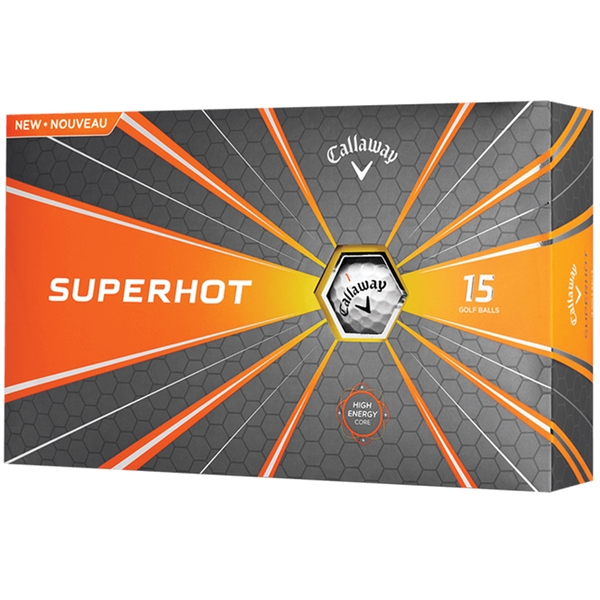 Callaway Superhot Golf Balls - 15 Ball Pack