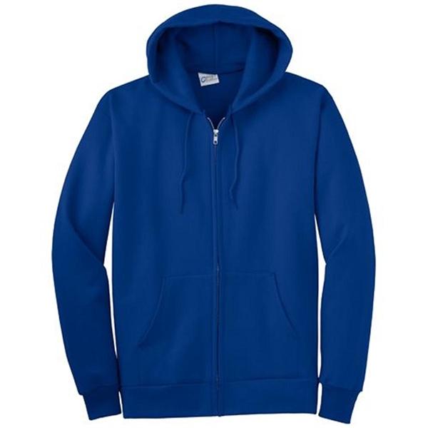 Port and Company Full-Zip Hooded Sweatsh