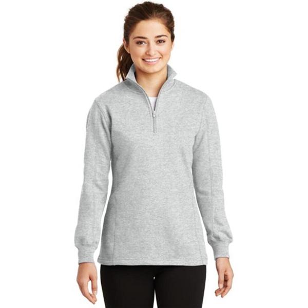 Sport-Tek Ladies Quarter-Zip Sweatshirt