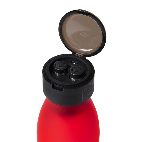 20 Oz. Tritan Merge Bottle With Wireless Earbuds