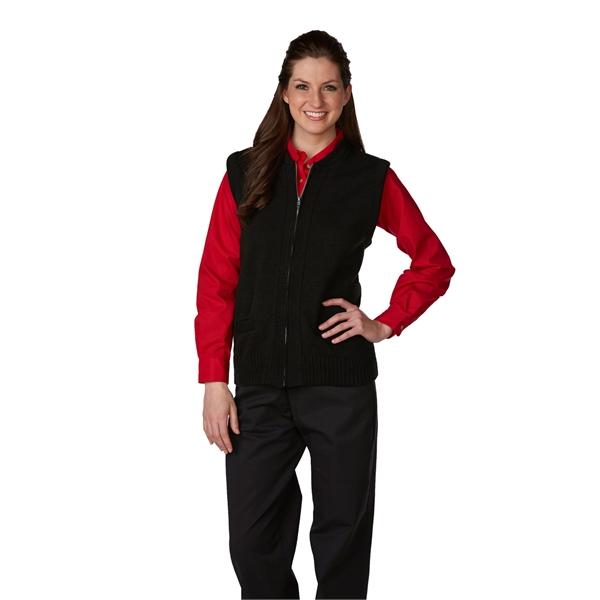 Unisex Heavyweight Zip-Front Crewneck Transit Sweater Vest
