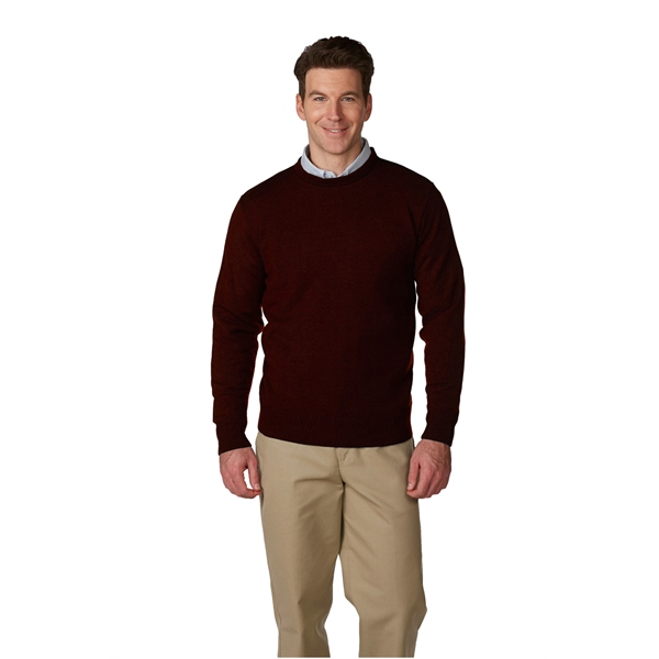 Unisex Jersey Knit Crewneck Pullover Sweater