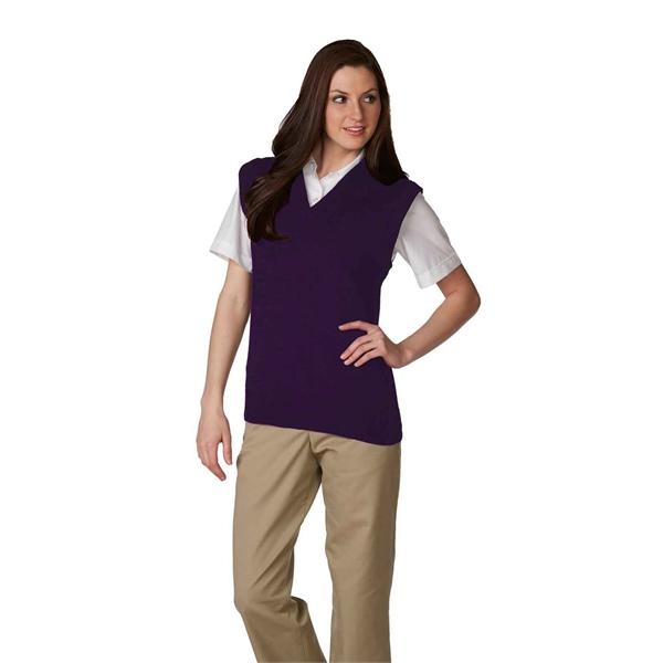 Unisex V-Neck Pullover Jersey Knit Sweater Vest