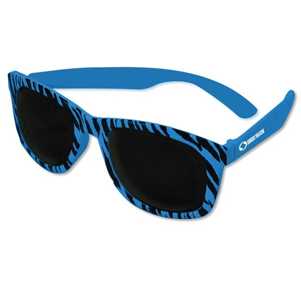 Chillin' Checker Sunglasses-Closeout