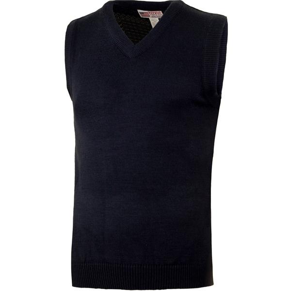 Acrylic V-Neck Sleeveless Sweater Vest