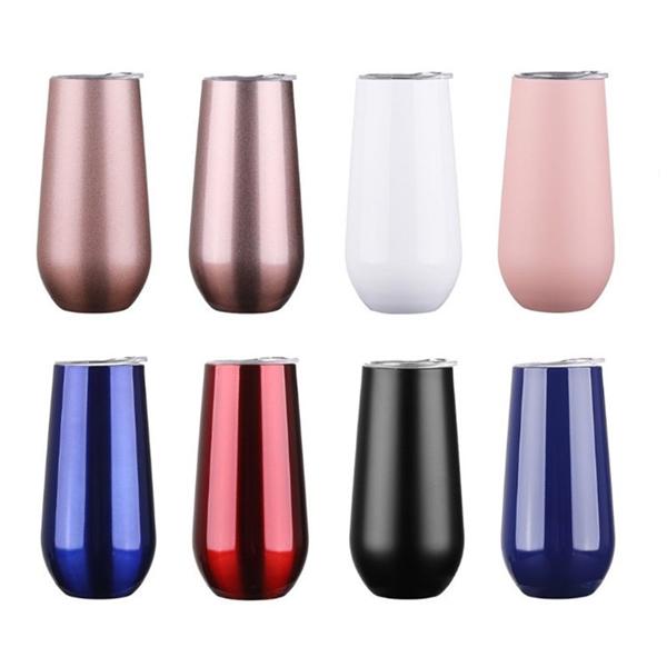 6oz Vacuum Insulated Slim Body Drinking Tumbler