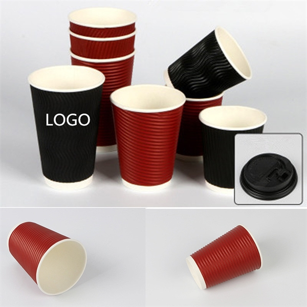 Coffee Corrugated Paper Cup