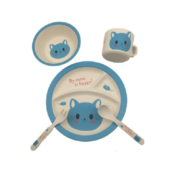 bamboo fiber plate, bamboo cup,baby cup set