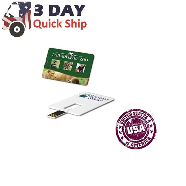 USA Decorated Credit Card USB Flash Driv