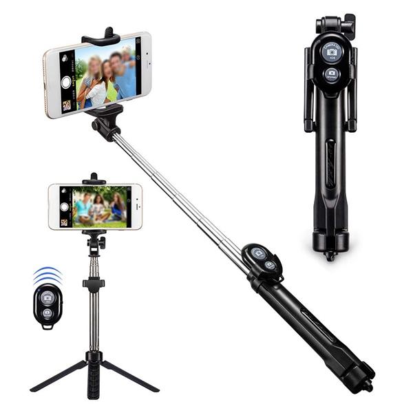 MOQ 10 PCS Selfie Stick with Tripods
