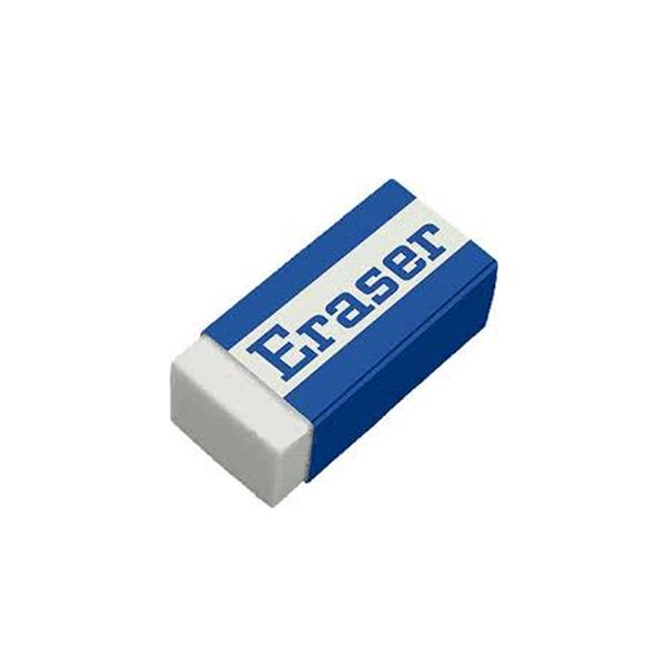 Rectangular White Eraser