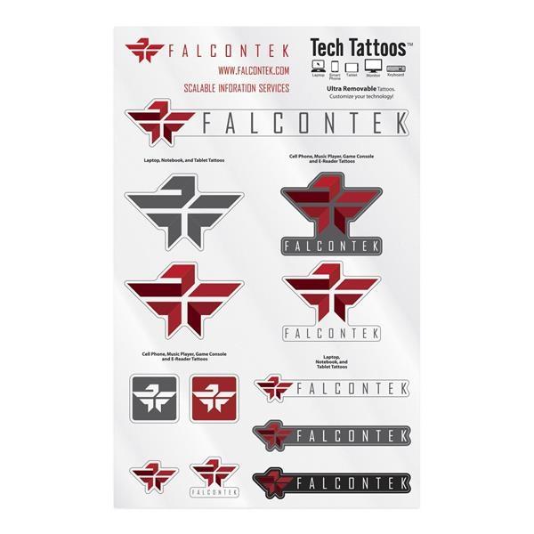 "Tech Tattoos Decal / Custom Shapes (7""x11"" Sheet)"