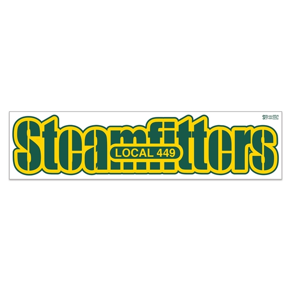 Vinyl Ultra Removable 1 Day Bumper Stickers 2 Colors (3