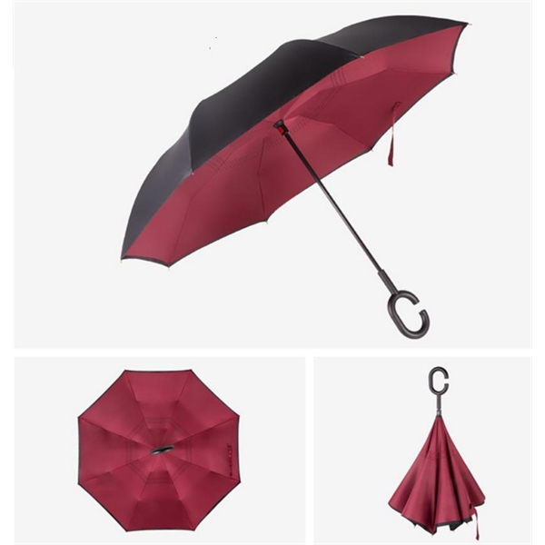 Inverted Folding Umbrella