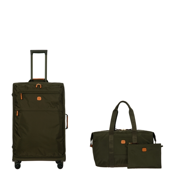 X-Bag X-Travel 30 inch Spinner and 18 inch Folding Duffle