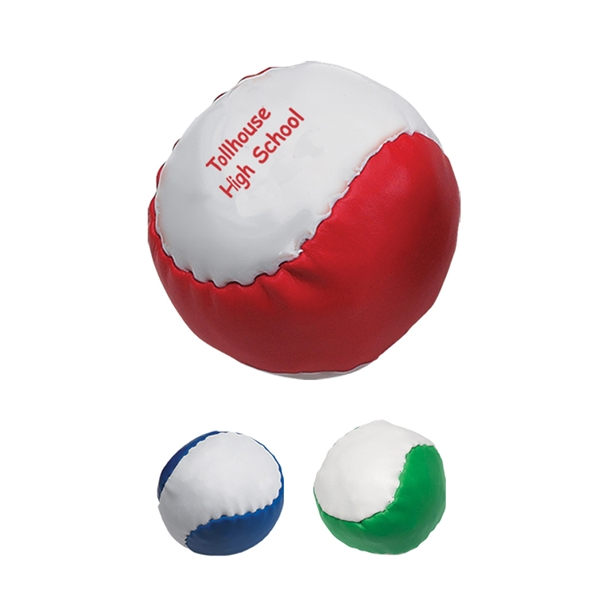 Leatherette Ball - Leatherette ball filled with PVC pellets.
