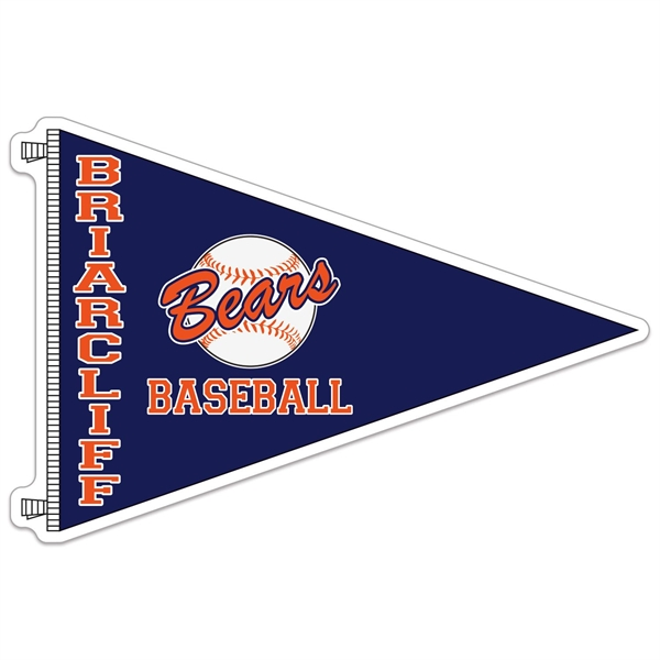 Pennant Shaped Sports Magnet