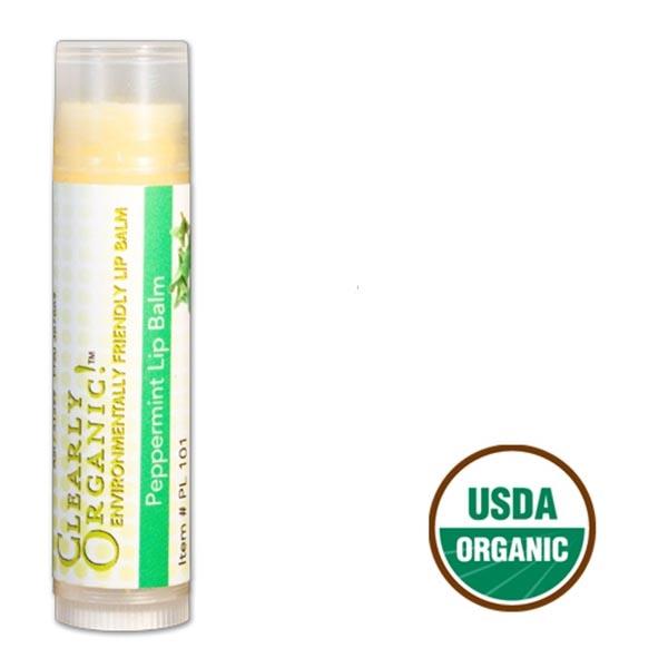 USDA Certified Organic Lip Balm 0.15 oz Tube