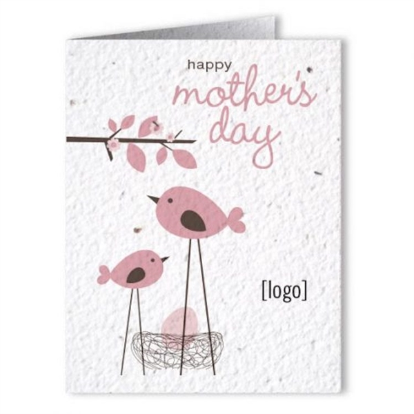 Mother's Day Seed Paper Greeting Card