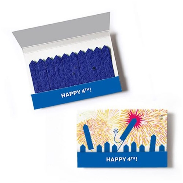 Patriotic Seed Paper Matchsticks