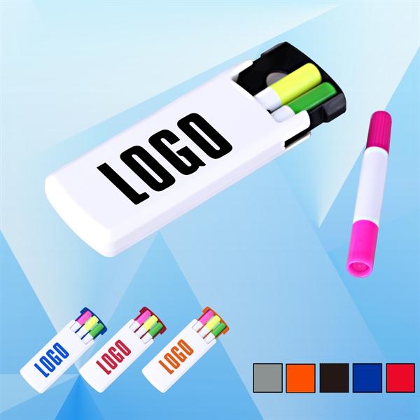 3 Color Gel Highlighter Set