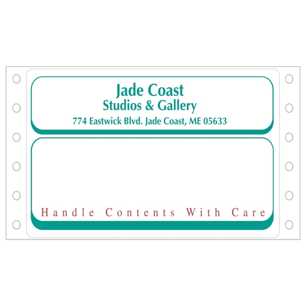 """Die Cut Roll Shipping Labels (2 15/16""""x5"""")"""