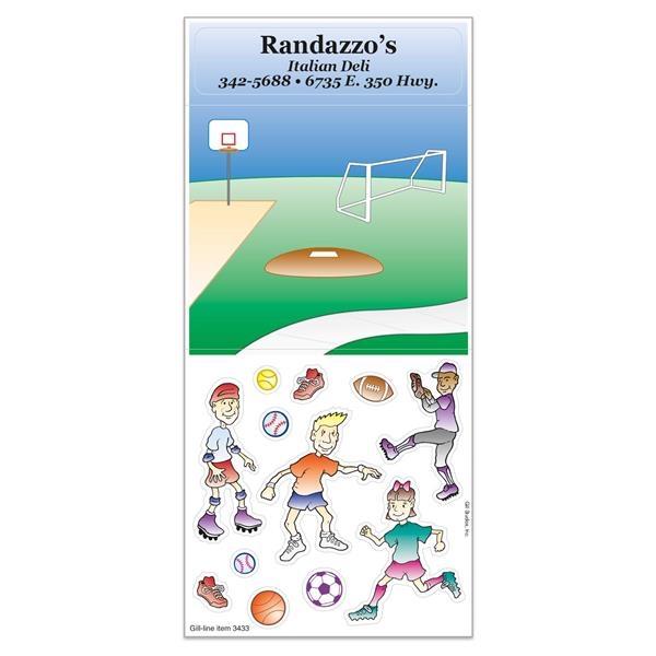 Peel N Play Sticker Sheet w/ Repositionable Children's