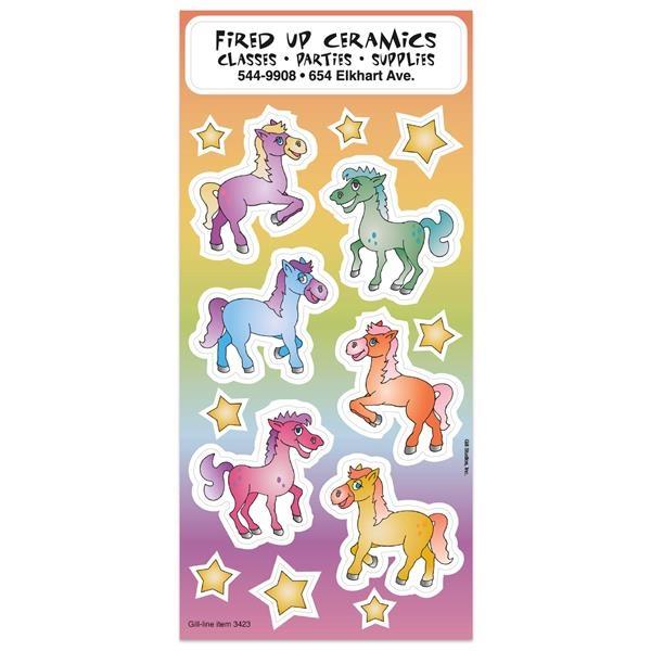 Pony Fun & Fantasy Sticker Sheet