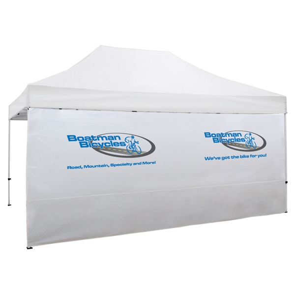 15' Full Wall for Event Tents (Full-Color Imprint)