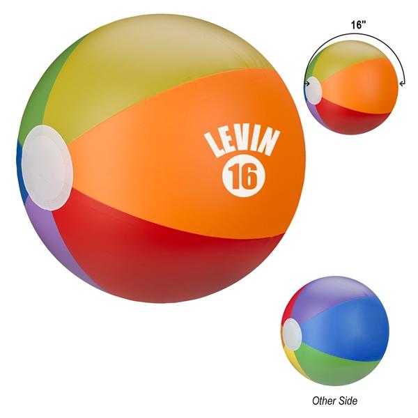 """16"""" Rainbow Beach Ball"""