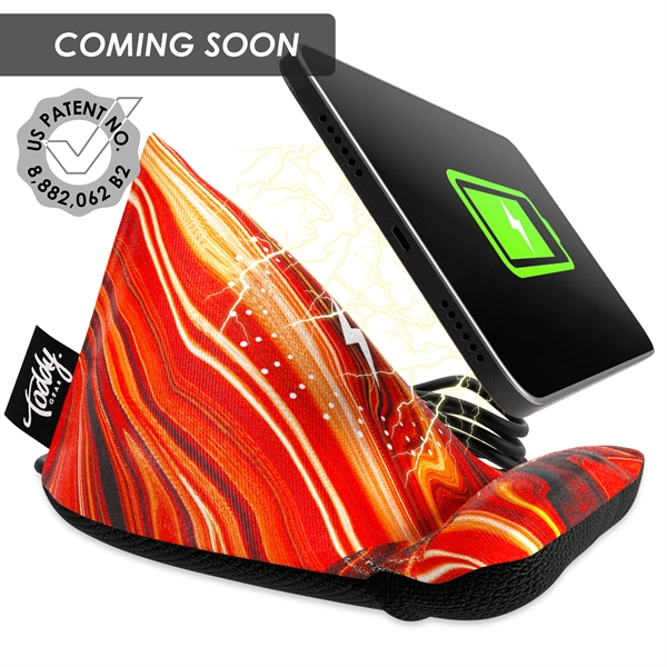 The Wedge™ Mobile Device Stand with Wireless Charger