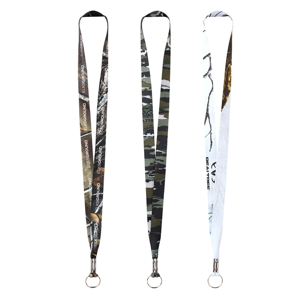 RealTree Dye Sublimation Lanyard 3/4""