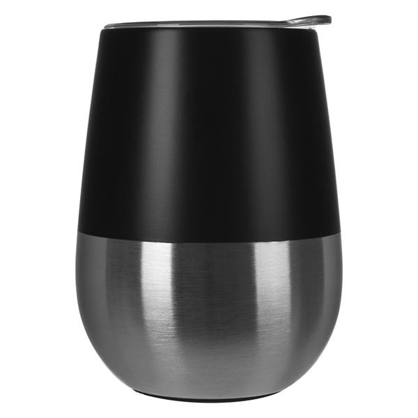 10 Oz. Two-Tone Bel Vino Stemless Wine Cup