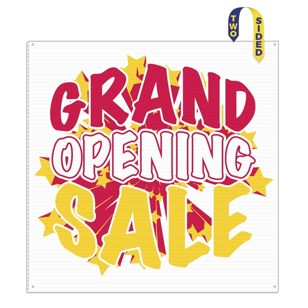 """Large Format Stock Size Corrugated Plastic Sign (48""""x48"""")"""