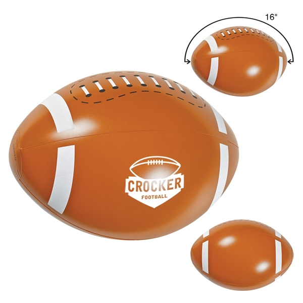 "16"" Football Beach Ball"