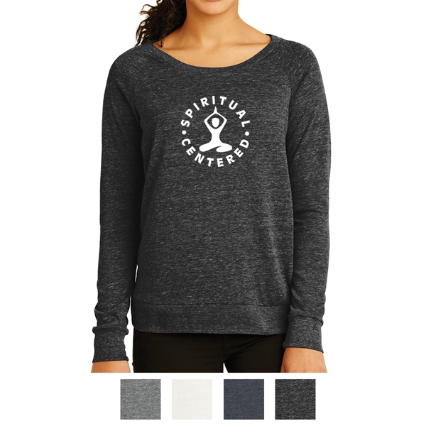 Alternative Ladies' Eco-Jersey Slouchy Pullover