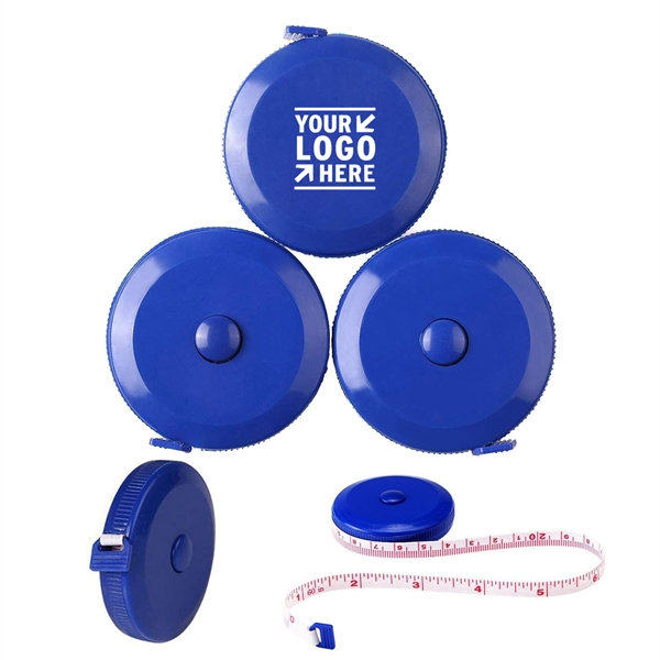 Royal Blue Plastic Tape Measure