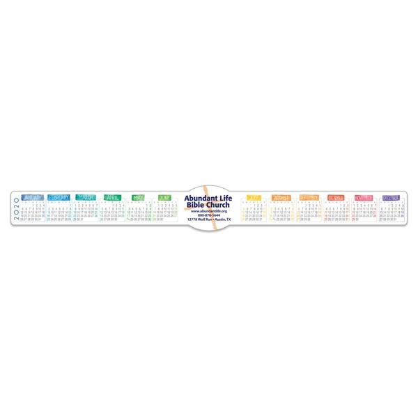 Keyboard/ Monitor Full Color Calendar w/ Oval Ad (1