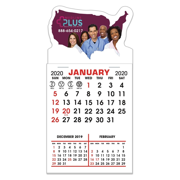 Stick It Decal Calendar Pads - United States