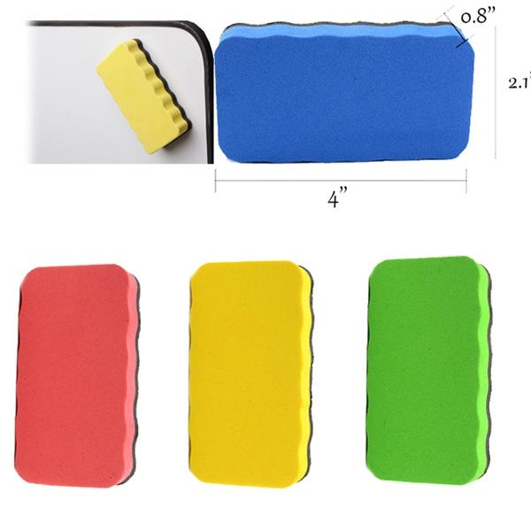 Magnetic White Board Eraser
