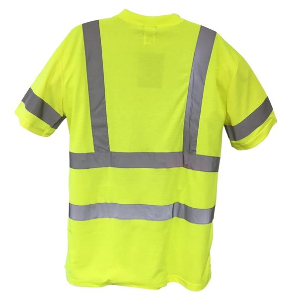High Vis Cotton Comfort Short Sleeved T-Shirt, Class 3