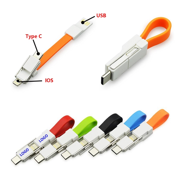 3 in 1 Keyring Cable